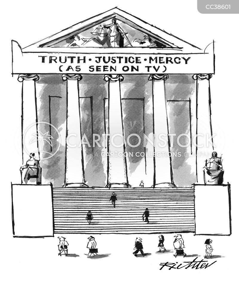 Courts Of Law cartoon