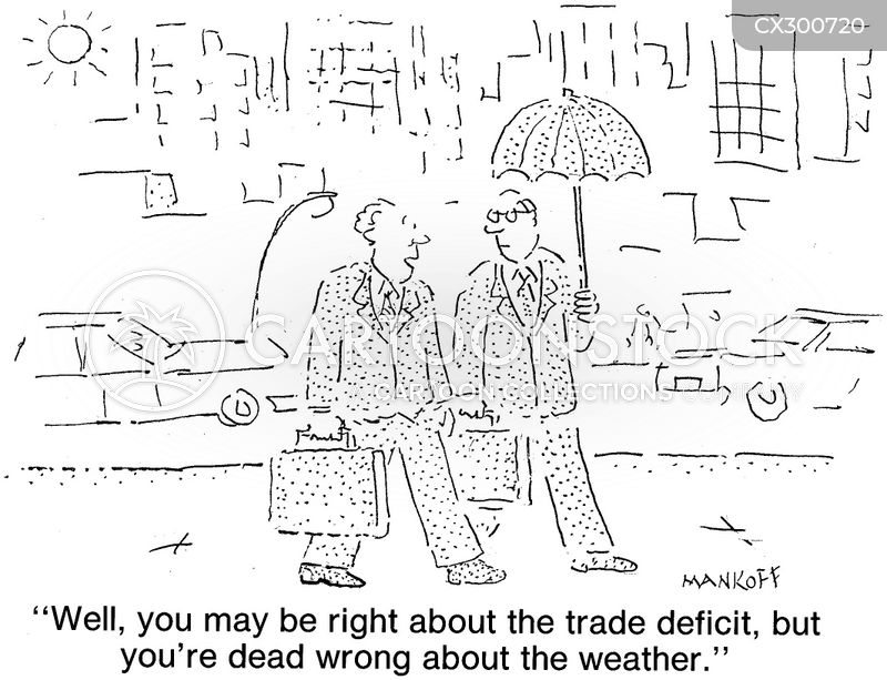 trade deficit cartoon