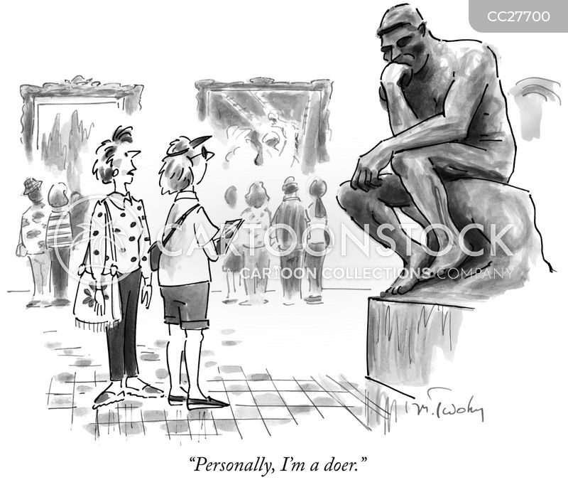 sculpture cartoon