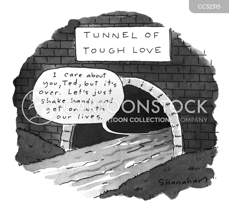 amicable break up cartoon