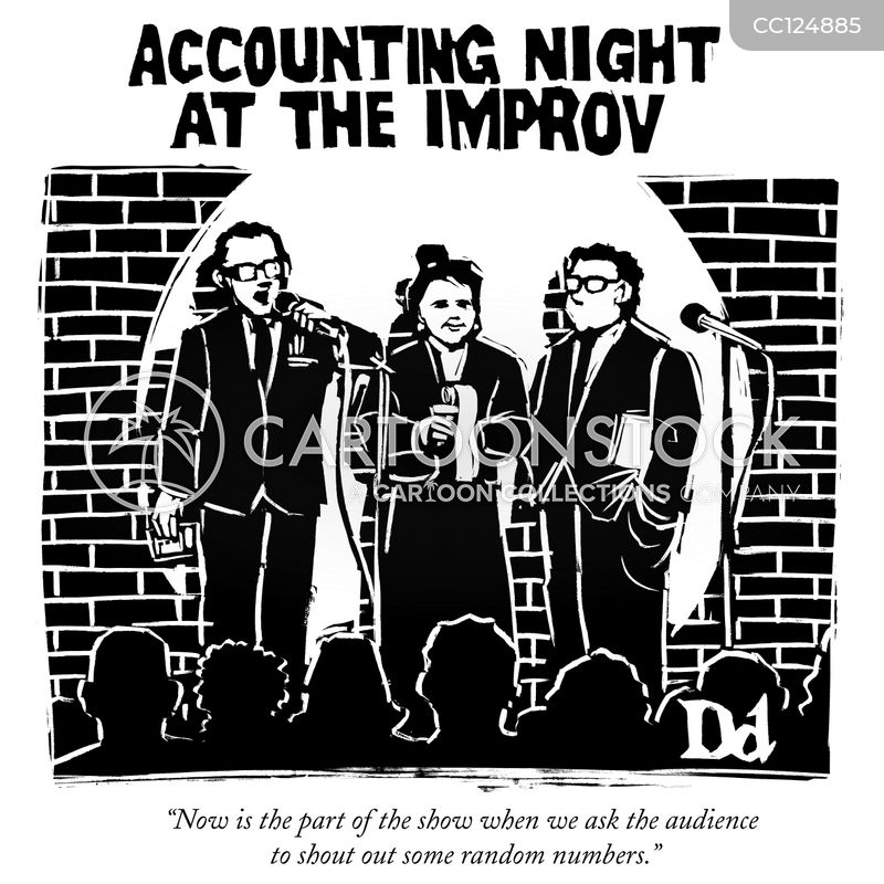 improv comedy cartoon