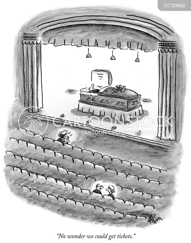tickets cartoon