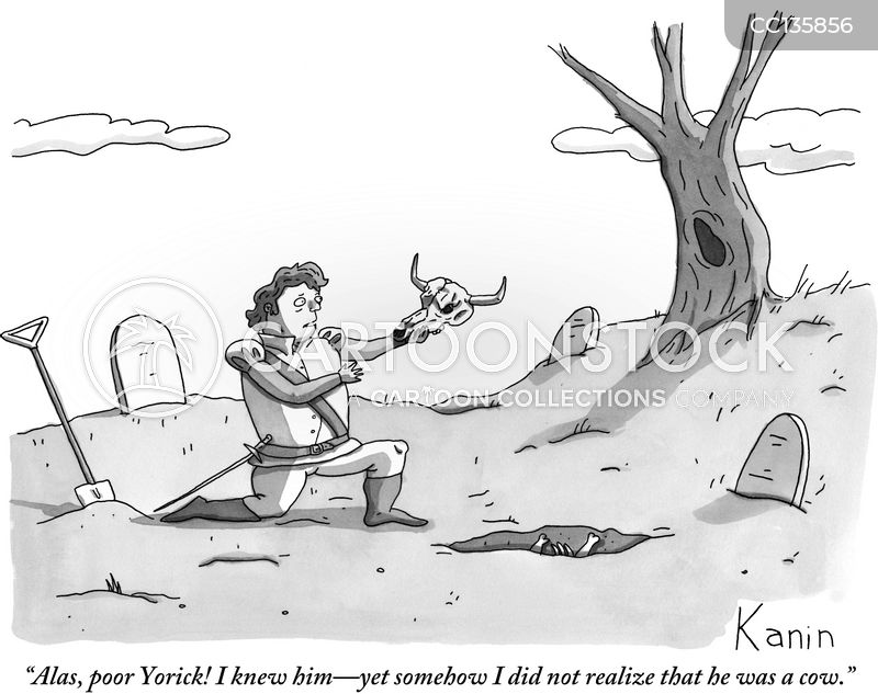 Shakespeare cartoon