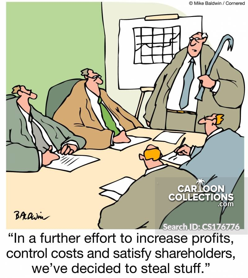 increase profits cartoon