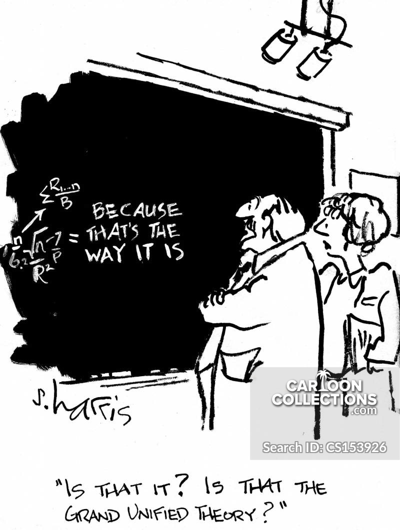 grand unified theory cartoon