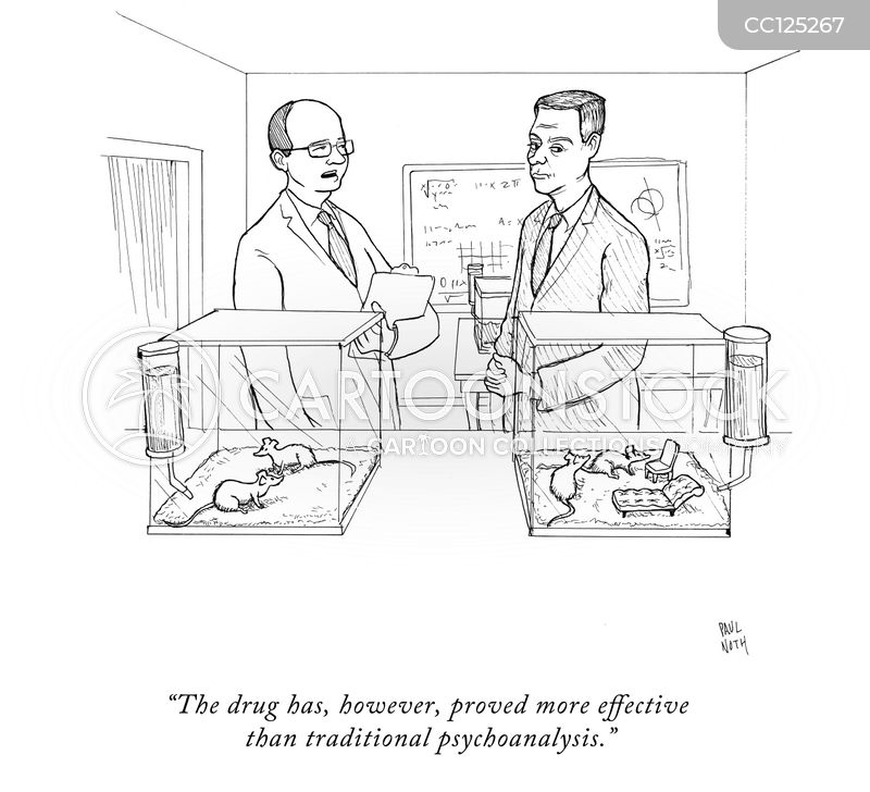 Animal Testing cartoon