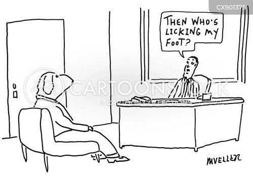 lick cartoon
