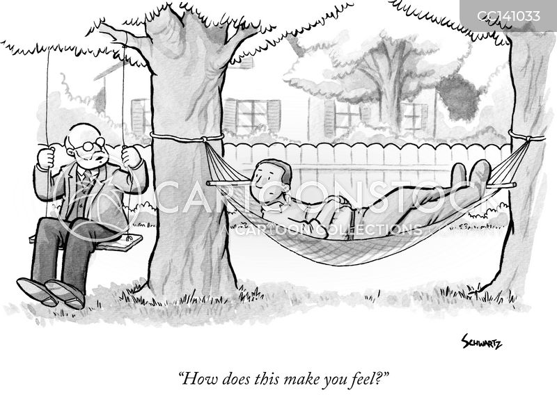 hammocks cartoon