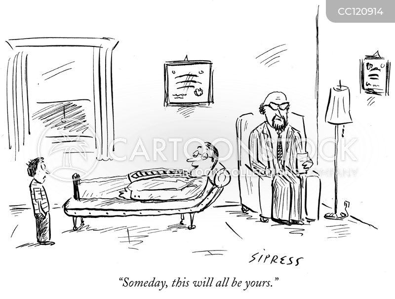 inherited illness cartoon