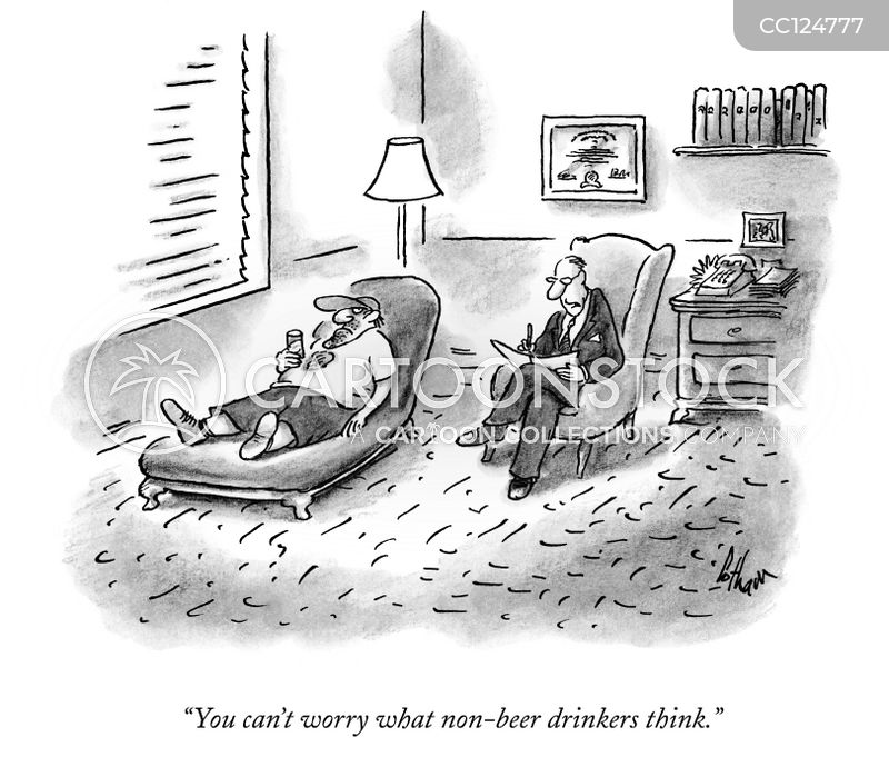 alcohol addiction cartoon