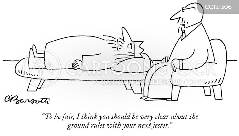 Court Jesters cartoon