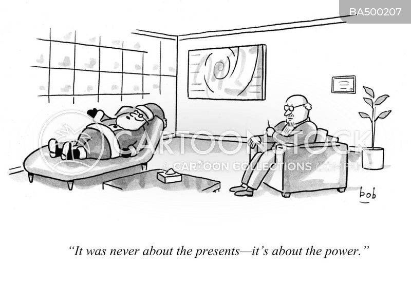 not about the presents cartoon
