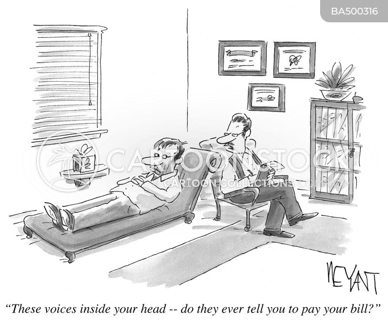 Voices Inside Head cartoon