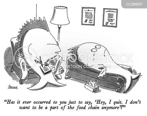 food chain cartoon