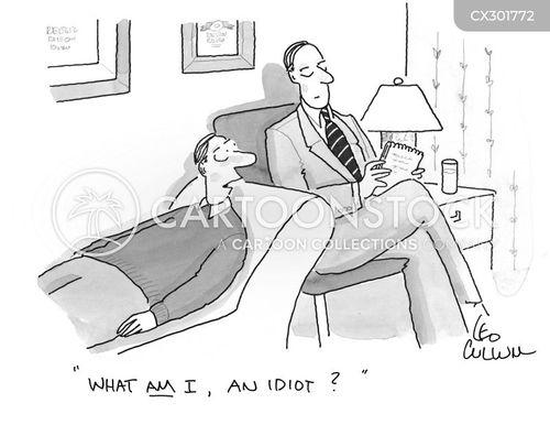 unintelligent cartoon