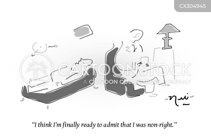 admitting you were wrong cartoon