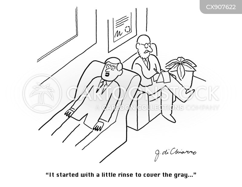 begin cartoon
