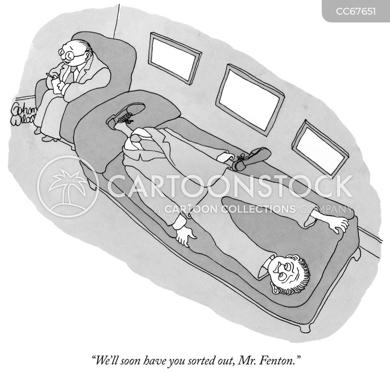 psychoanalysis cartoon
