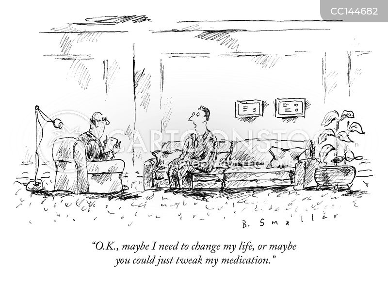 on medication cartoon