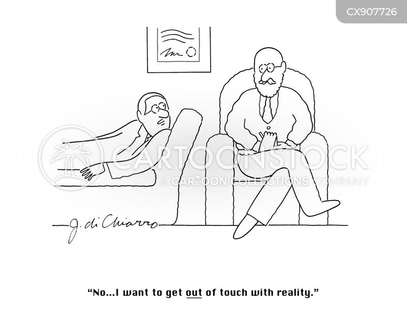out of it cartoon