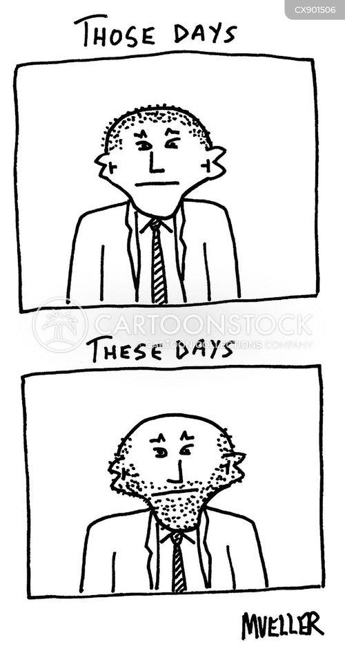 stubble cartoon