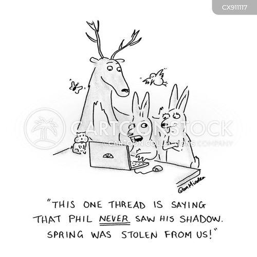 misinforms cartoon