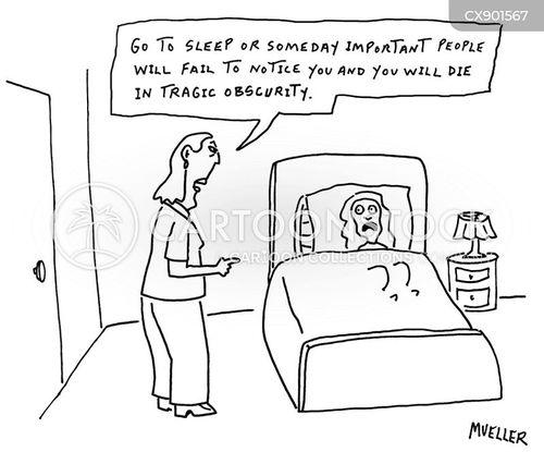 bedtime routine cartoon
