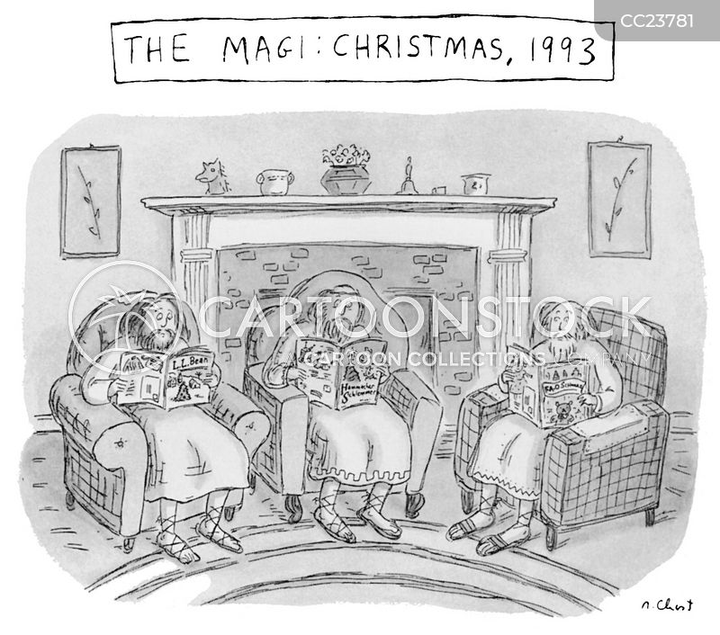 x-mas cartoon