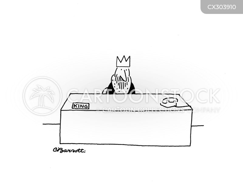 throne room cartoon