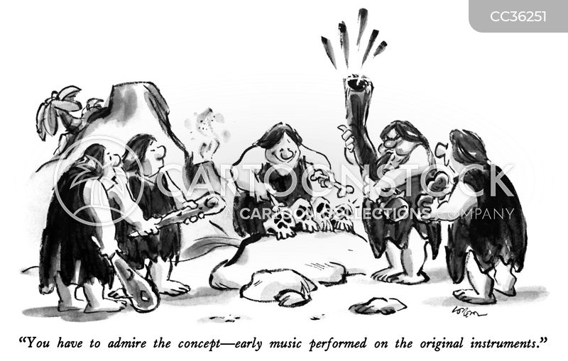 bands cartoon
