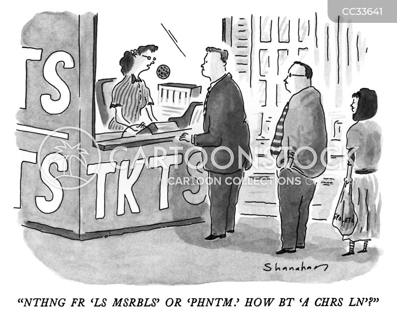 vowels cartoon