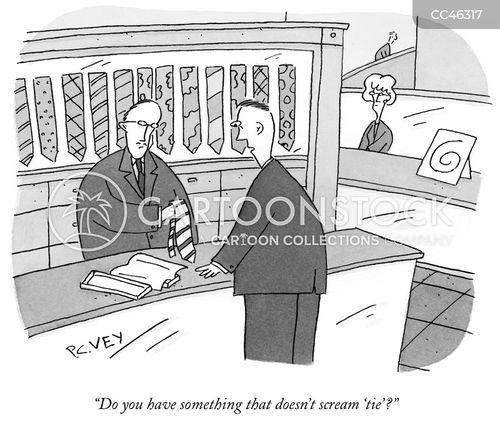 retail assistants cartoon