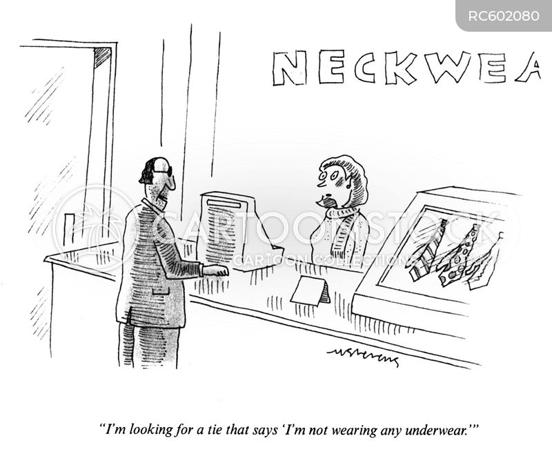 under wear cartoon