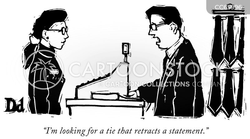 Retracted Statements cartoon