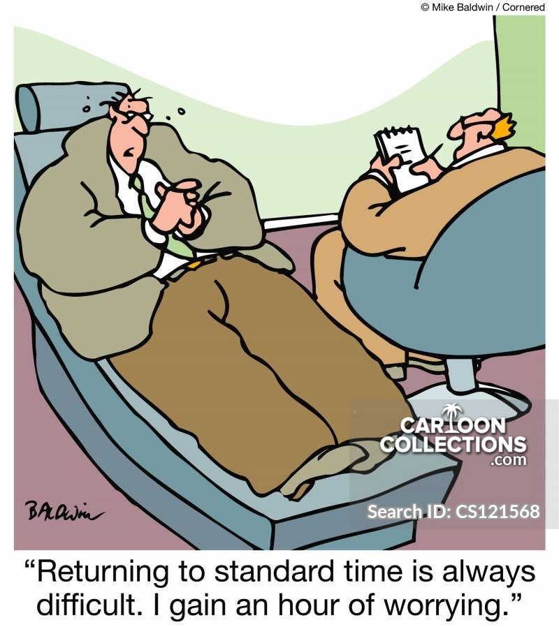 Clocks Change cartoon
