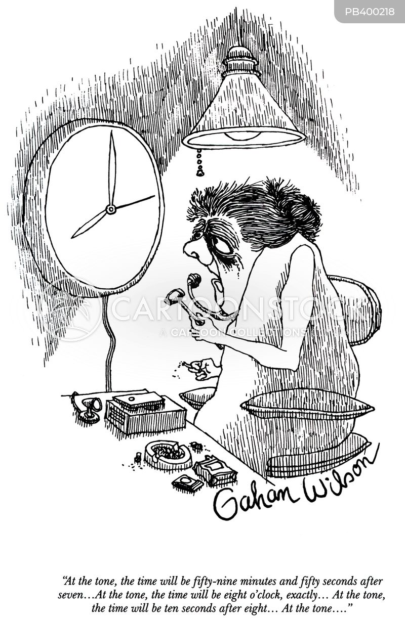 Time Change cartoon