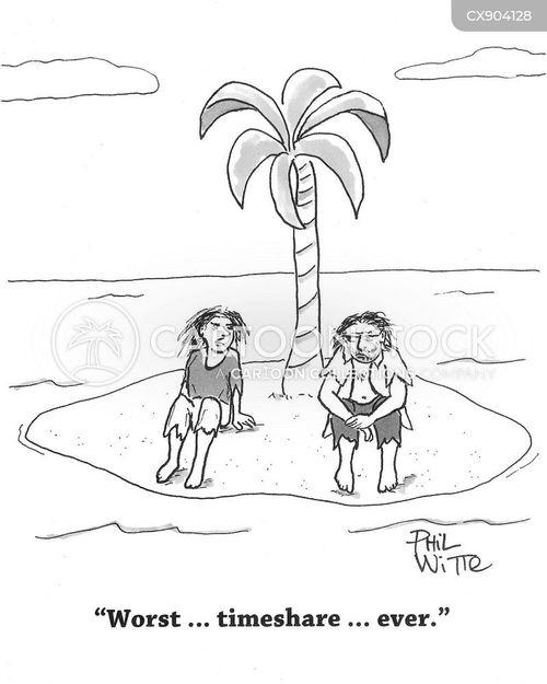 holiday home cartoon