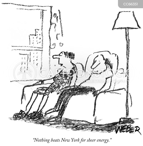 exhausting cartoon