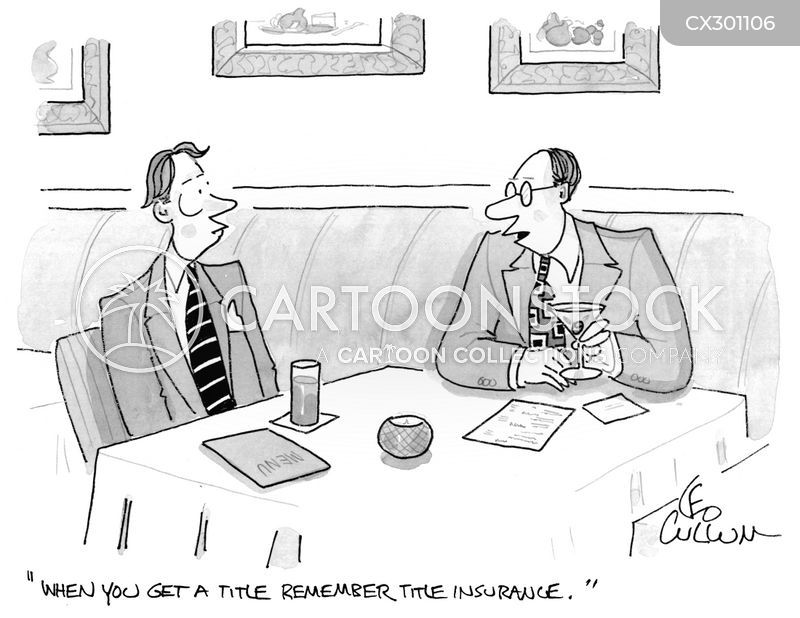 Indemnity cartoon