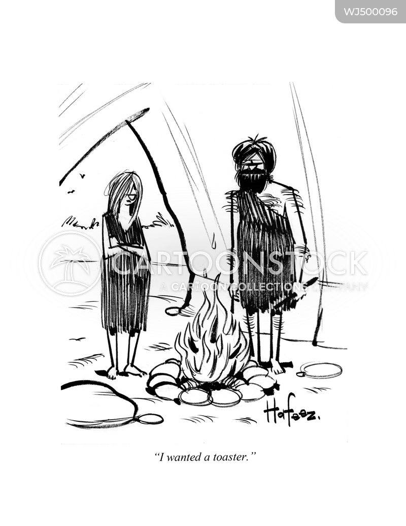cavewomen cartoon