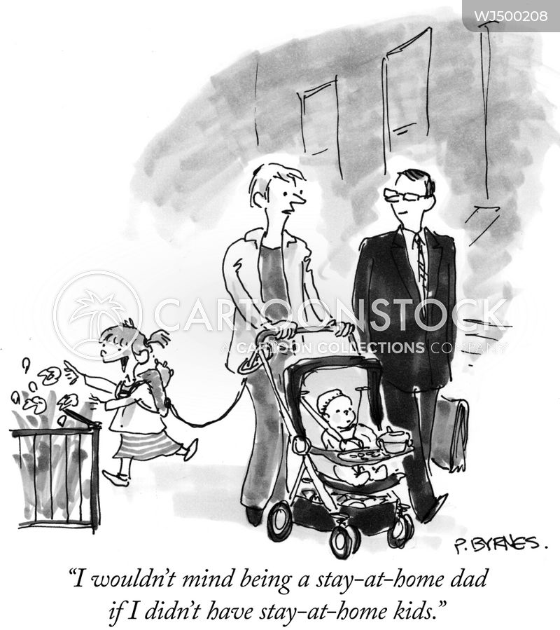 young families cartoon