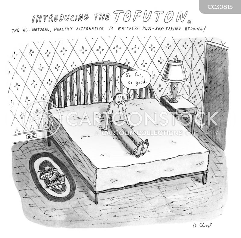 mattresses cartoon