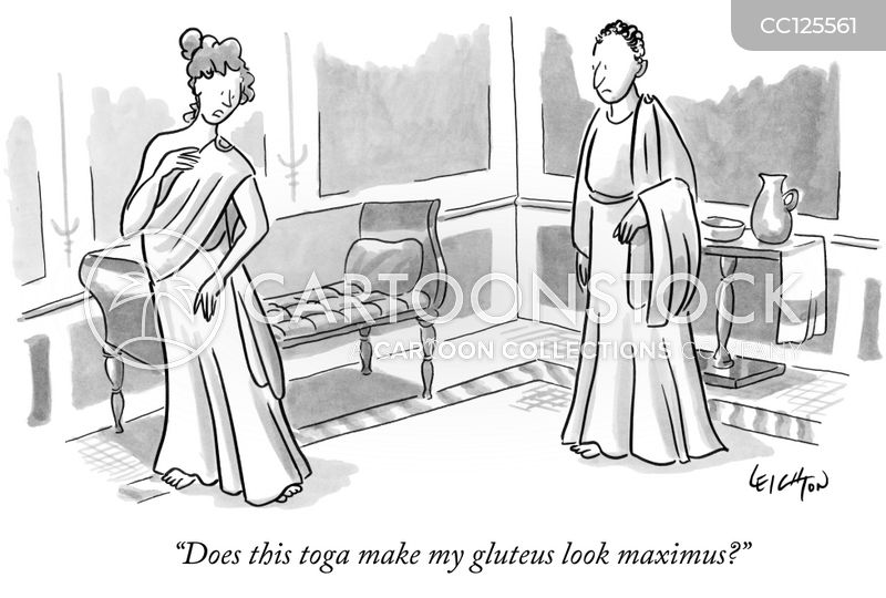 romans cartoon