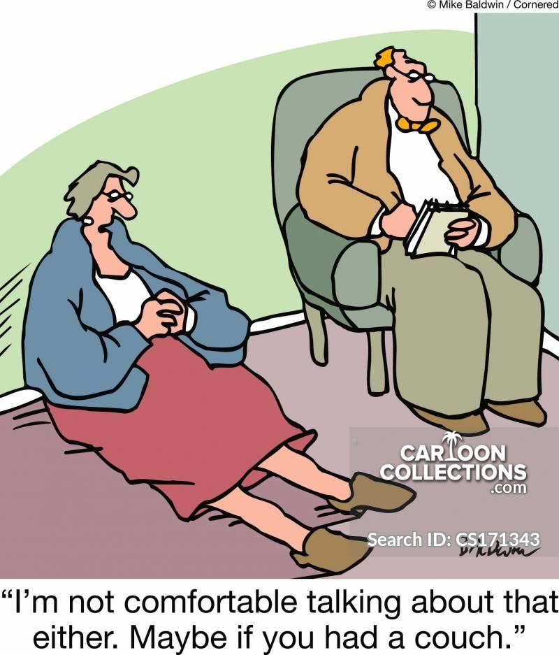 topic of conversation cartoon