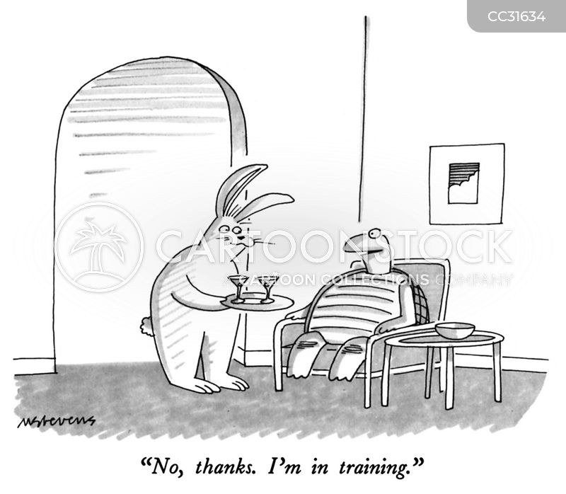 runners cartoon