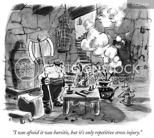 manacles cartoon
