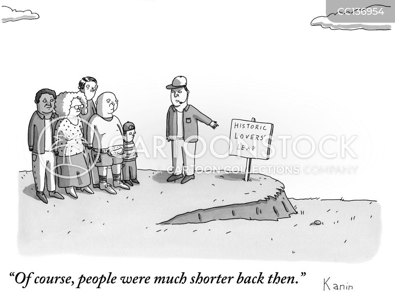 tour guides cartoon