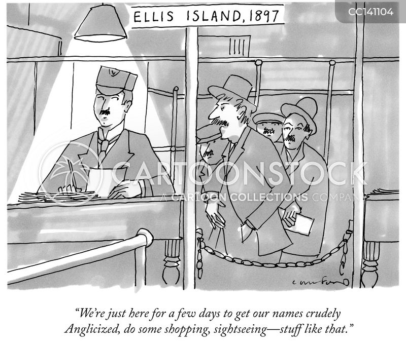 tourists cartoon