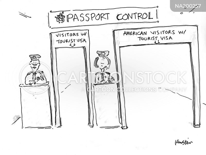 border control cartoon