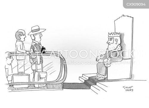 approving cartoon